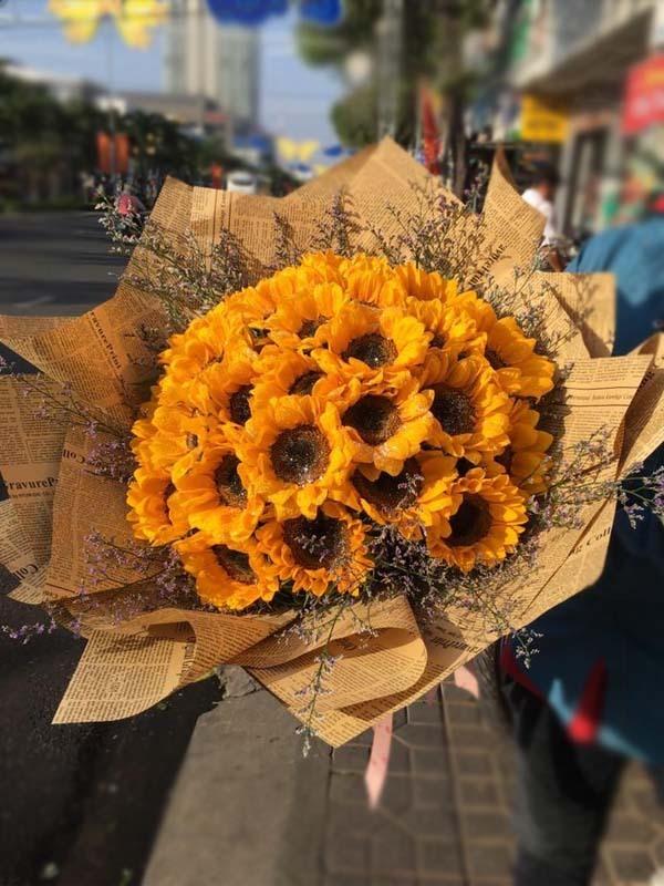 Bó hoa hướng dương vàng đẹp | Bó hoa đẹp